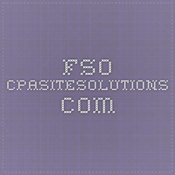 fso.cpasitesolutions.com