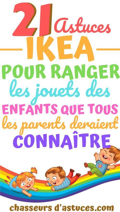 21 Astuces Ikea Pour Ranger Les Jouets Des Enfants Que Tous Les Parents Devraient Connaitre Rangement Rangement Jouet Ikea