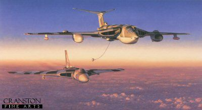 Handley Page Victor K2 and Avro Vulcan B2