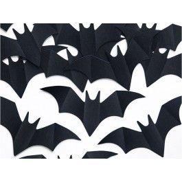 Coriandoli PIPISTRELLO centrotavola batman decorazione  pipistrelli halloween Festa
