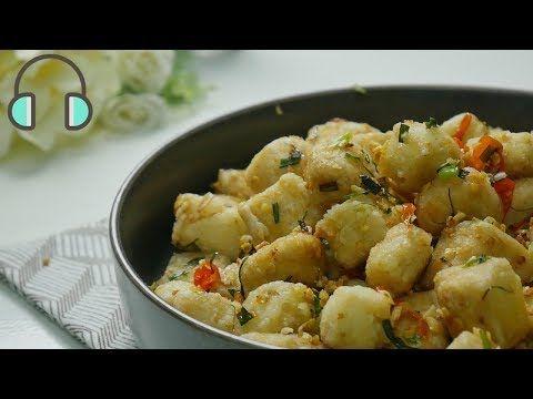 Asmr Cooking Resep Tahu Cabe Garam No Music Youtube Resep Tahu Resep Makanan Masakan