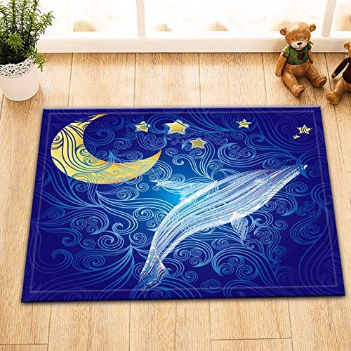 Lb Nautical Marine Life Clip Art Bathroom Rugs Bath Mats Anti