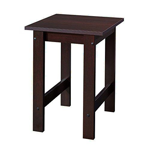 Small Wooden End Table Brown Square Country Flat Minimalist Chairside Sofa Side Table Living Room Furniture Ebook B Small Side Table Wood Nightstand End Tables