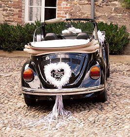 Décoration voiture de Mariage | Mariage.