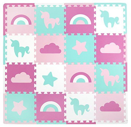 Tadpoles Soft Foam Playmat 16 Piece Set