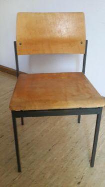 retro stühle holz/metall in münchen - ramersdorf perlach   stühle ... - Ebay Kleinanzeigen Küche