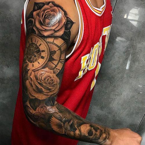 Upper Arm Sleeve Tattoos Best Full Arm Sleeve Tattoos For Men