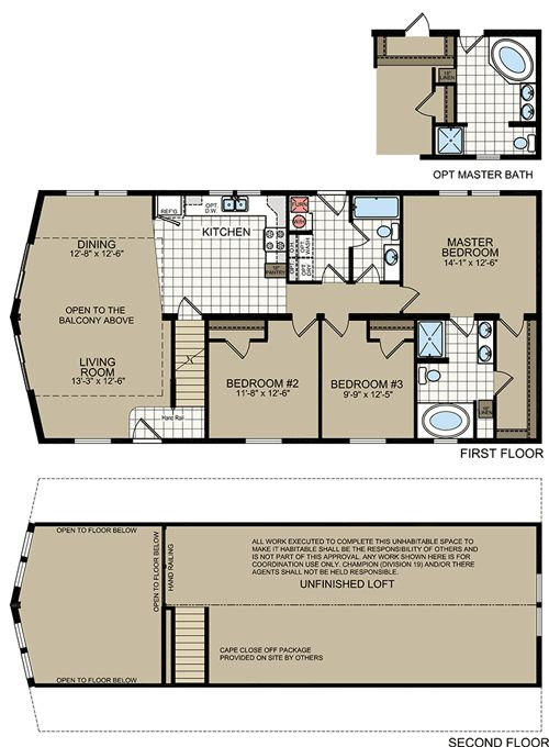 New york modular home floor plans titan 745 cape chalet for Maine home plans