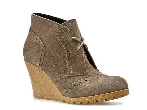 Mia Pampa Wedge Bootie Boots Shop Women's Clearance - DSW.... these are fabulous with skinnies