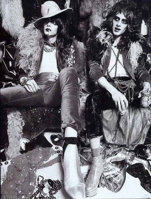 New York dolls,   soooo inspired right now