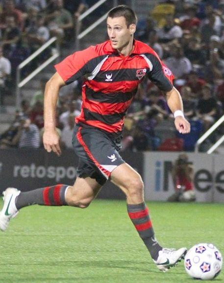 Matt Horth '10, Major League Soccer for the New England Revolution.