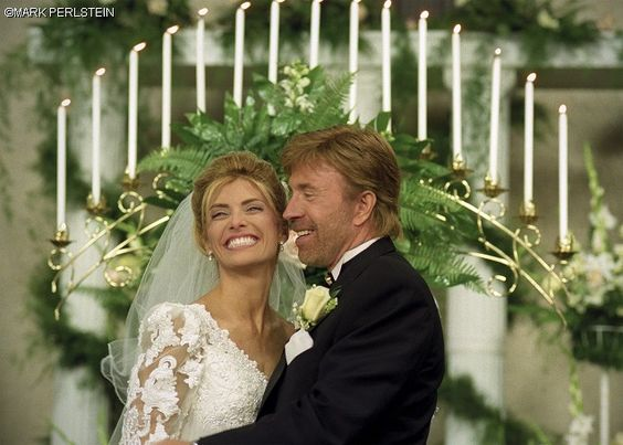 chuck norris married gena okelly in november 1998 chuck