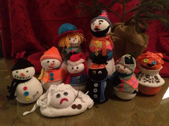 #snowpeople #sockpeople #merrychristmas