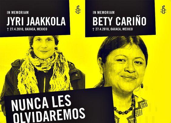 "Huelga de hambre de Omar Esparza viudo de ""Bety""Cariño - http://notimundo.com.mx/huelga-de-hambre-de-omar-esparza-viudo-de-betycarino/"