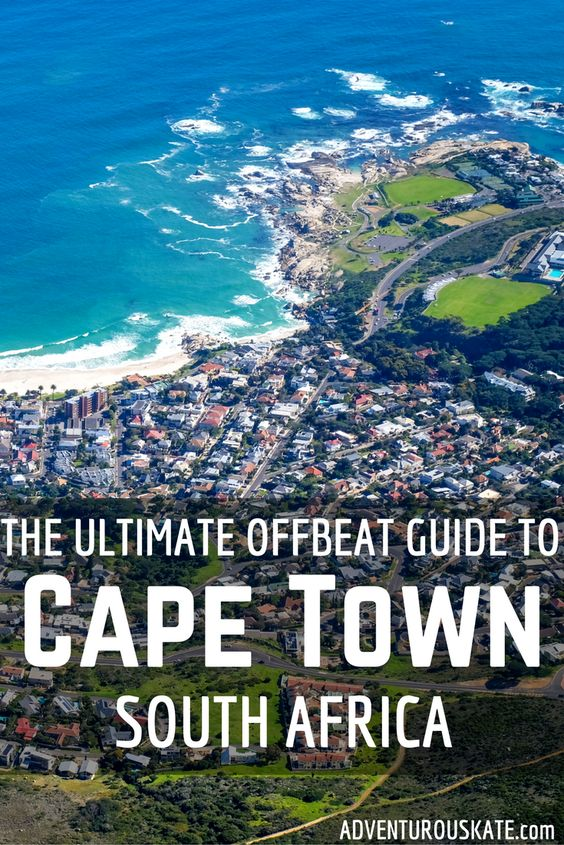 The Ultimate Offbeat Guide to Cape Town, South Africa - Adventurous Kate