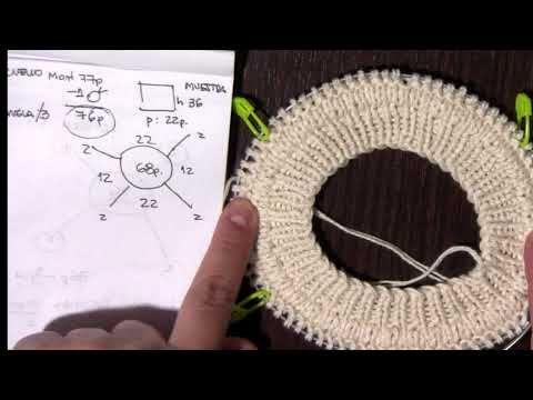 Suéter Sweater O Jersey Cerrado Manga Ranglan Division En 3 Part3 Youtube Tejido Dos Agujas Bufanda Patrones De La Bufanda De Punto Técnicas De Tejido