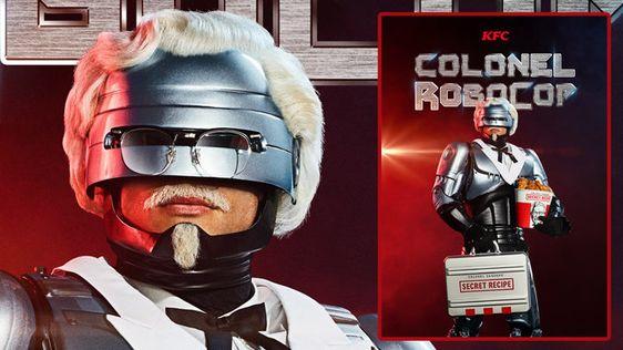 COLONEL ROBOCOP BY KFC