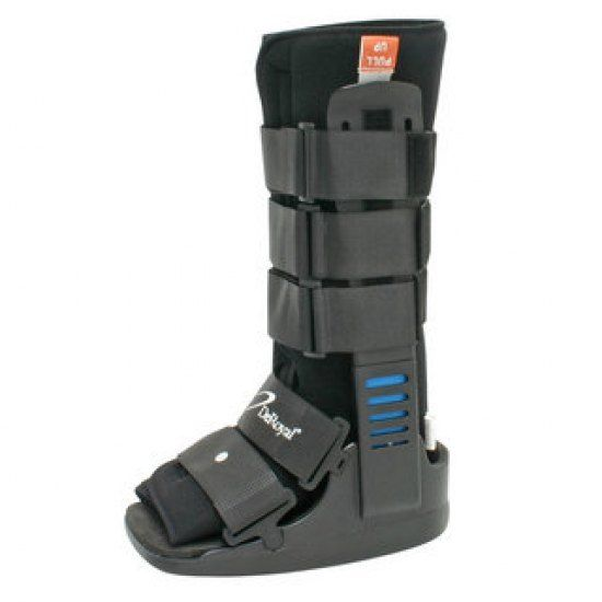 5 walking boot post ankle sprain history