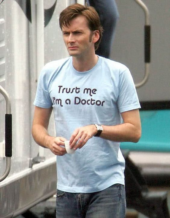 The gift of perfect tshirts. | 23 Gifts David Tennant Has Graced The World With