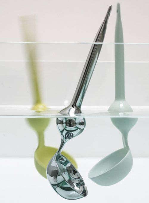 floating ladle.  smart