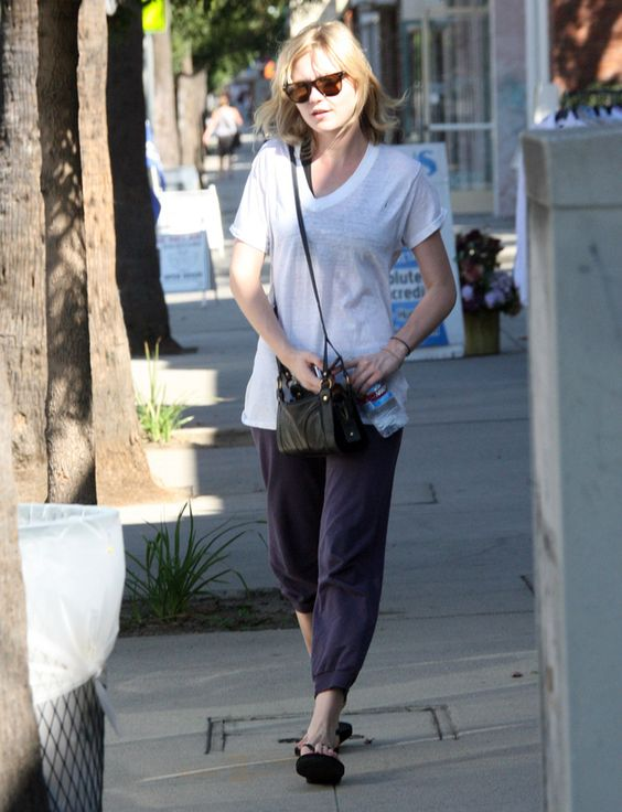 Kirsten Dunst | 43 Celebrities Who Swear By Yoga | Loved and pinned by www.downdogboutique.com