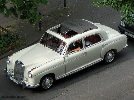 1959 mercedes benz 220s ponton with webasto roof. Black Bedroom Furniture Sets. Home Design Ideas