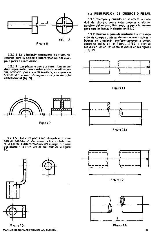 Tecnologia De La Representacion Lgy Norma Iram 4501 Dibujo Tecnico Definiciones De Vistas Metodo Iso E Tecnicas De Dibujo Definiciones Vistas