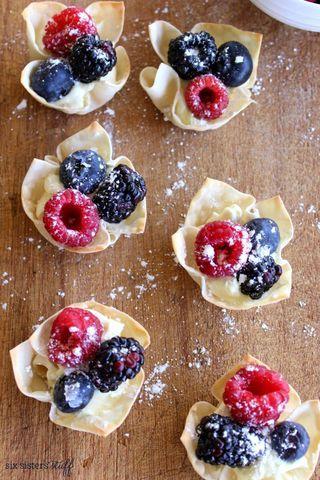 Easy Lemon Berry Tarts