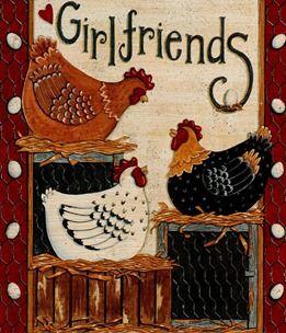 clipart imagem decoupage Chicken 11: