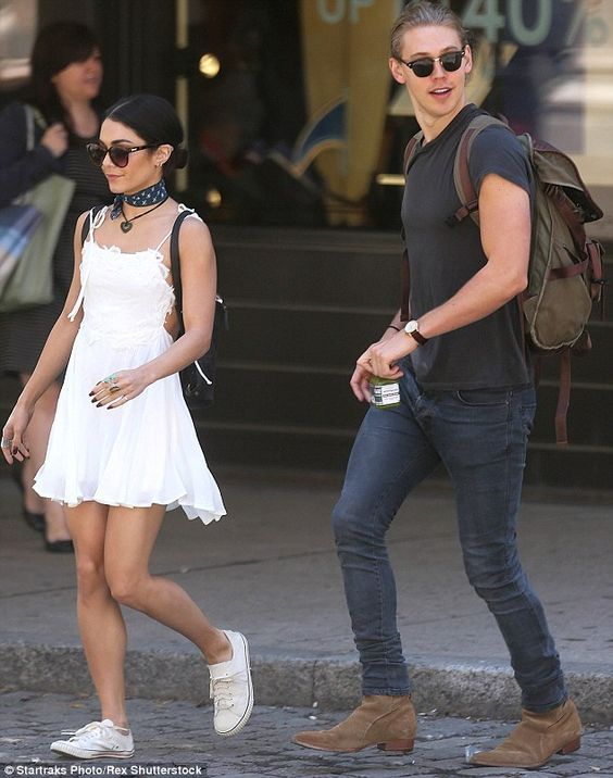 Feeling all white:Vanessa, whose stint on Broadway in the musical Gigi ended earlier this...
