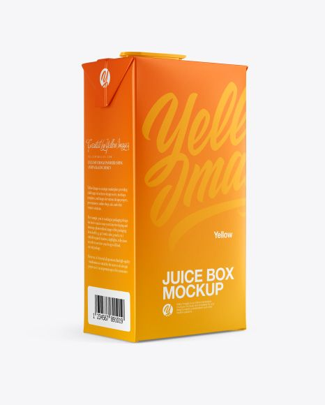 Download Juice Box Mockup Half Side View In Packaging Mockups On Yellow Images Object Mockups Box Mockup Mockup Free Psd Free Psd Mockups Templates