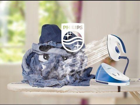 Ugly Jean e pus la respect de statia de calcat #PhilipsPerfectCare (eu l-am testat, cu ajutorul BuzzStore si Acasa cu Philips, si chiar asa este!)