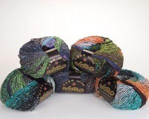 5 x 100g balls Multicoloured Noro Obi - colour 1   eBay