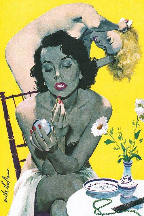 "colin-vian: "" Mike Ludlow 1954 """