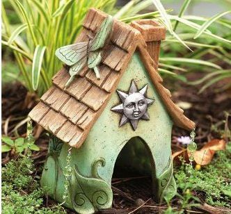 It's highly probably that you've never seen the Fairies that live in your garden