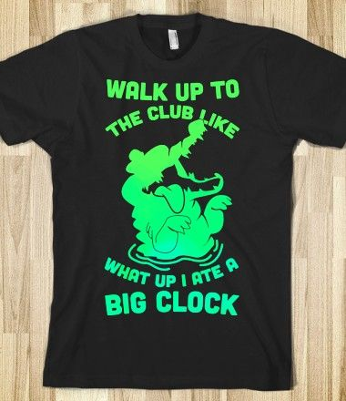 What Up I Ate A Big Clock