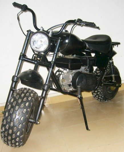 Monster Dog Minibike Old School, Big Tires