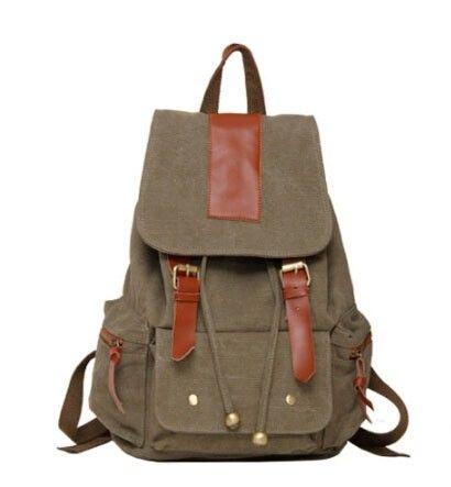 army green Backpack bag