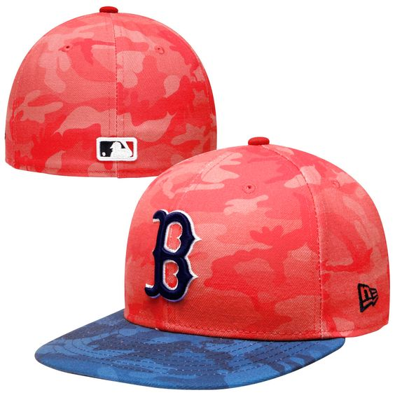 a4b44e409a9009 ... cheap new era boston red sox 59fifty camo 2 camo fitted hat red 32946  63c39