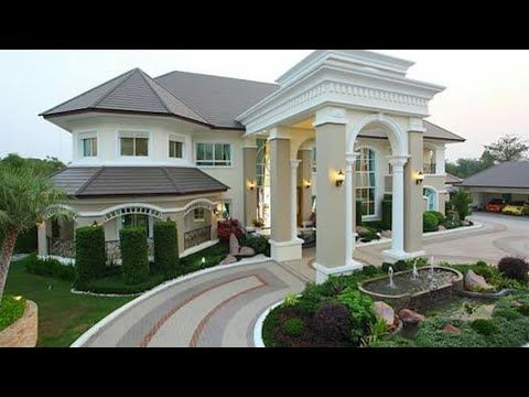 Beautiful House Designs 2019 Youtube Dream House Exterior House Designs Exterior Modern House Exterior
