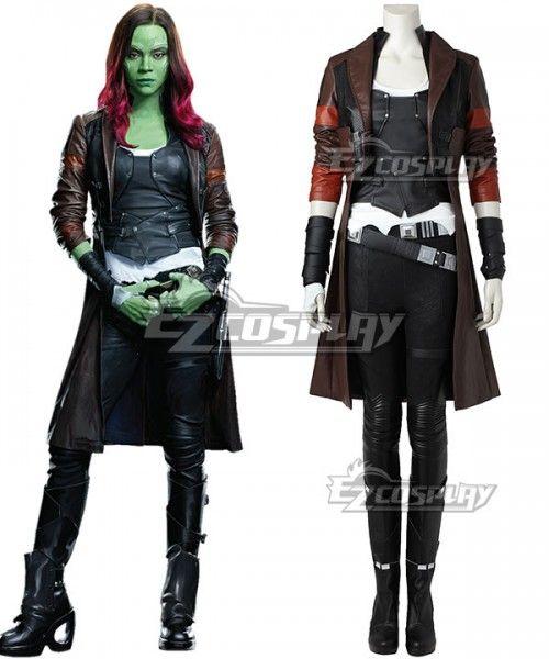 Guardians of the Galaxy Vol 2 Gamora Cosplay Costume Custom Made
