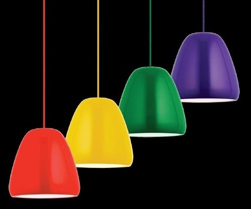 lustre pendente aluminio candy 300mm bicolor cores