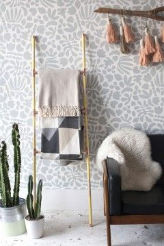 Make a versatile 'blanket ladder' from materials at the hardware store - The Washington Post