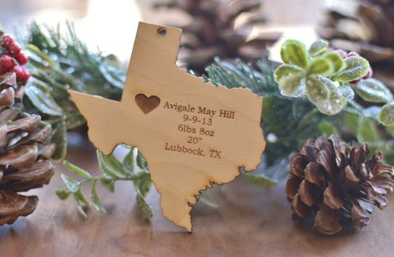 Personalized Baby's First Christmas Ornament  50% off at Groopdealz