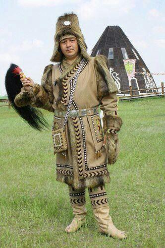 якутский национальный костюм фото