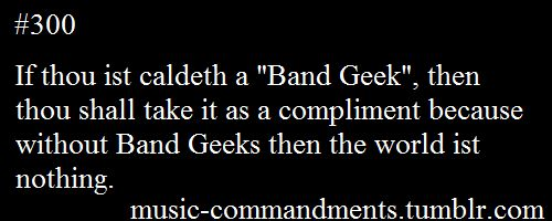 or orchestra geek
