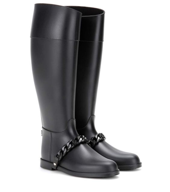 mytheresa.com - Eva Chain Wellington boots - Luxury Fashion for Women / Designer clothing, shoes, bags