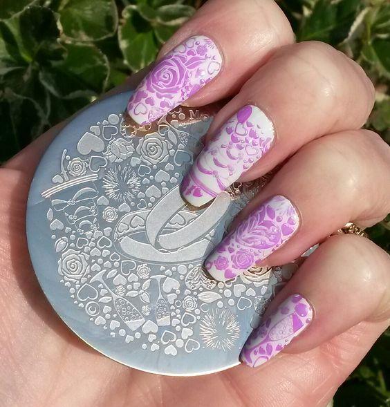 Bite No More Moyou Nails Review Bridal Manicure Ideas Pinterest