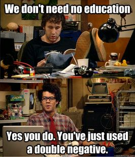 IT Crowd Education/I think this is my first pinned meme, but it would be SO great in my classroom!