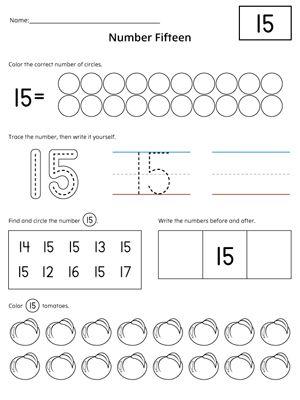 Number Names Worksheets : writing numbers to 20 worksheet Writing ...